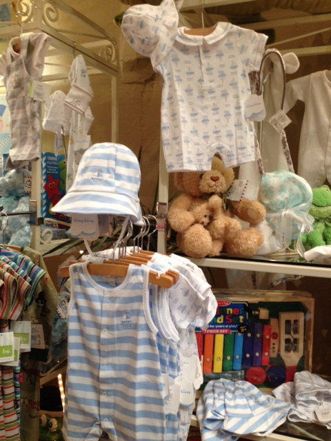 Boys nautical outfits from Kissy Kissy - with matching sun hats!